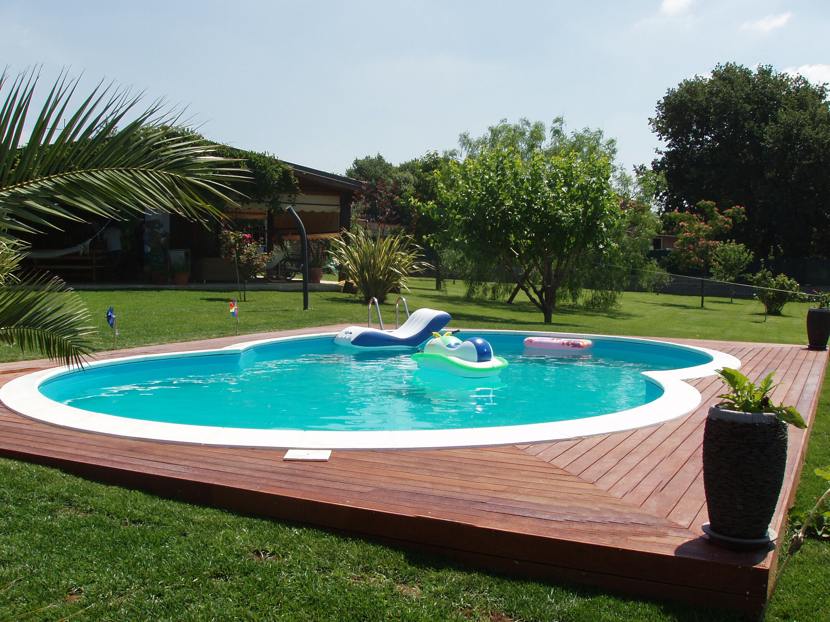 Piscine interrate jollygame piscine e accessori - Foto piscine interrate ...